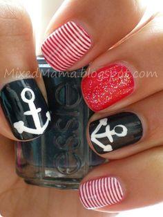 decoraciones de uñas Nautica 6