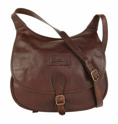 Barbour Ladies Brown Leather Newmarket Bag at Cox the Saddler 711e778a6c759