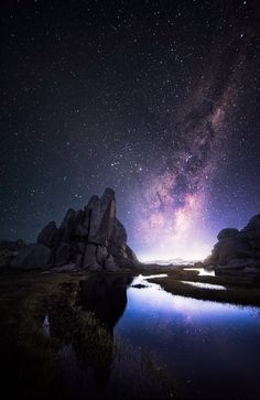 This image was taken at a granite tor just south of North Ramshead in the Kosciusko National Park around 4:30am.   Cheers Crispy  www.crispyscapes.com