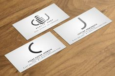 I like the logo simplicity Real Estate Business Card Designs