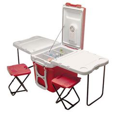 The Fold-Out Party Cart | 26 Tailgating Necessities That Will Make Football Season Amazing