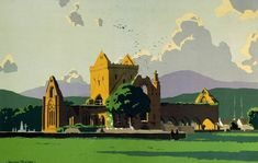 Britain's ruins through the eyes of Norman Wilkinson Norman, Amazing Art, Painting, Image, United Kingdom, Ireland, Landscapes, Eyes, Art