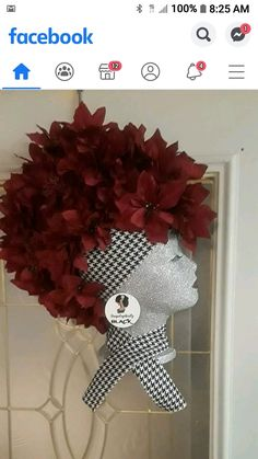 Cute Crafts, Crafts To Do, Diy Crafts, Diy Projects To Try, Craft Projects, Head Wreaths, African Christmas, African Crafts, Theme Noel