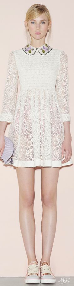 & q u a i n t & c h a r m i n g l y o d d ♔ {so quaint} & Spring 2016 Ready-to-Wear Red Valentino