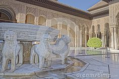 Alhambra Palace, Granada, Spain - Download From Over 37 Million High Quality Stock Photos, Images, Vectors. Sign up for FREE today. Image: 62148216