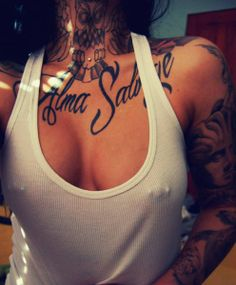 Inked and pierced.