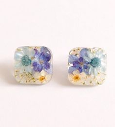 [★PSYCHE☆] ボタニカル ピアス 《再々販》 Diy Resin Crafts, Jewelry Crafts, Earrings Handmade, Handmade Jewelry, Kawaii Gifts, Resin Jewelry Making, Resin Flowers, Handmade Accessories, Resin Art