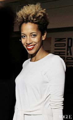 Beauty Staple: Carly Cushnie's Bleached Ombré Crop – Vogue