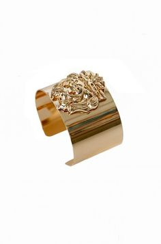 OMG Lion Head Bracelet - Gold