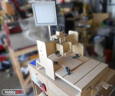 Low-Cost 3-Axis CNC Router