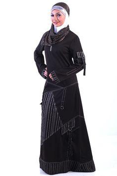 Islamic Clothing Traditional & Cultural Wear New Jilbabs Long Sleeve Abayas Caftan Arab Women Dress Turkey Dubai Style Middle East Muslim Women Above Knee Mini Fashion Dress Yet Not Vulgar