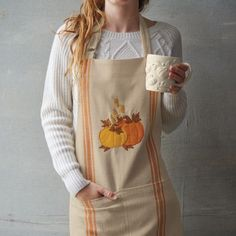 Pumpkin Apron, available at #surlatable