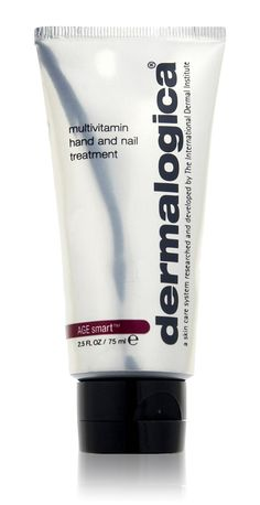 Premier Treatment, Hands-Down   Let your hands take on a more youthful, healthy appearance with Multivitamin Hand & Nail Treatment by Dermalogica. This non-greasy treatment conditions, moisturizes and replenishes dry hands while preventing nail and skin damage. With an ample supply of vitamins, extracts and antioxidants, Multivitamin Hand & Nail soothes irritation, protects against environmental damage, evens skin tone and diminishes visible signs of maturing skin.