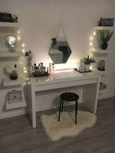 45 consejos de decoración de dormitorio lindos y femeninos para niña 24 - #bedroom #decorating #gi ...  #bedroom #consejos #de #decoración