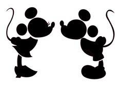 Disney printable silhouette