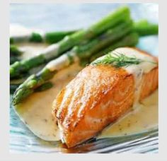 Salmon in Champagne Sauce | Cooking to be Clever