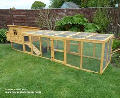 Dorset Coop & Double Run Moveable Chicken Coop, Chicken Coops, Hens, How To Run Longer, The Unit, Running, Quail, Gardening, Future