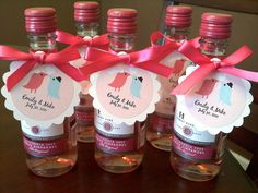 24 DIY Wedding Favor Ideas | Mini wine bottles, DIY wedding and Favors