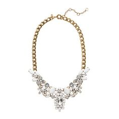 5 Great Accessories to Wear with All White - A Sparkly Statement Necklace -- Simon Style Setter®