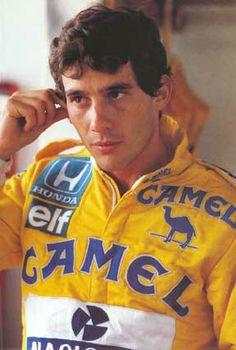 Ayrton Senna Camel Lotus 1987