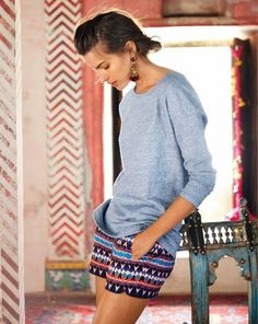 Passage to India J.Crew Summer 2014 lookbook modeled by Cameron Russell
