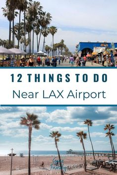 Have a layover at LAX? No need to waste hours sitting around the airport when you can explore the area instead. This list of the 12 best things to do near LAX will have you looking forward to your next layover in Los Angeles! California With Kids, California Vacation, Visit California, Southern California, Us Travel Destinations, Best Places To Travel, Travel Usa, Travel Tips, Travel Guides