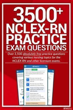 Heres our growing collection of NCLEX Practice Questions you can use for your upcoming licensure exams for FREE! There are over 3500 items in this set alone with a wide range of topics to choose from. Nursing Exam, Nursing School Notes, Top Nursing Schools, Nursing Tips, Nursing Students, Nursing Programs, Student Nurse, Nursing Career, Nursing Training