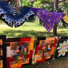 Someone beautiful local art! #upsticksandgo #senggigi #indonesia #lombok #localart #travelgram #travellingtheworld #travelphotos #colourful | Flickr - Photo Sharing!