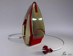 The Iron Man Iron!  It takes a superhero effort for me to iron my clothes.
