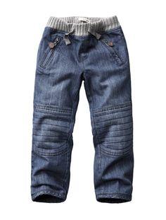 rib waist with knee details