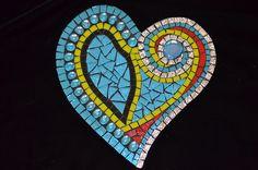Mosaic heart, Regina Coyle