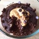 CHOCOLATE PEANUT BUTTER PROTEIN BROWNIE