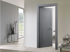Interior Hinged Doors. Fashion. The Collection Of Modern Doors ... Portes  Intérieures