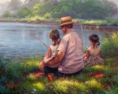 ✿Grandma & Grandpa✿ Mark Keathley ~ fishing