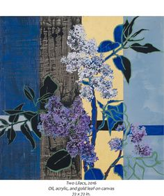 Robert Kushner Two Lilacs