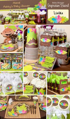 118 Best Gender Reveal Luau Images Baby Shower Cakes Cakes Baby