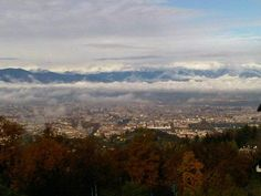 #Italy #Turin from the hill Colle della Maddalena. This is an Italy Different destination.