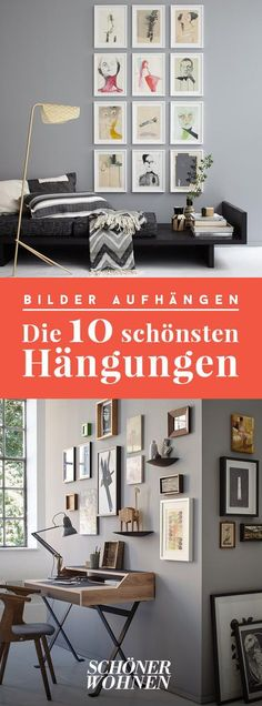 Wohnen mit Kunst ist keine Kunst – dank unserer Tipps zum Kaufen, Rahmen, Aufh… Living with art is not art – thanks to our tips on buying, framing, hanging and arranging. We introduce you to 10 hangings and show how… Continue reading → Decorating With Pictures, Home Decor Pictures, Family Pictures, Diy Furniture, Furniture Design, Ideas Para Organizar, Geometric Decor, Diy Home Crafts, Decoration Table