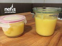 Limon Kreması ( Lemon Curd ) - Nefis Yemek Tarifleri - özlem Karakoc Lemon Curd Recipe, Cheesecake, Deserts, Food And Drink, Pudding, Cooking, Sweet, Recipes, Favori