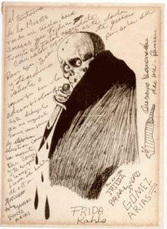 * El fantasma de la Muerte  Frida Kahlo 1926 Diego Rivera, Skeletons, Skulls, Superstar, Art, Frida Kahlo, Death, Photography, Art Background