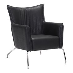 Ostend Occasional Chair Volcano Gray Zuo Modern
