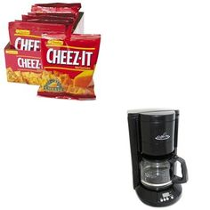 KITKEB12233OGFCP333B  Value Kit  Coffee Pro HomeOffice 12Cup Coffee Maker OGFCP333B and Kelloggs CheezIt Crackers KEB12233 * Check this awesome product by going to the affiliate link Amazon.com at the image.
