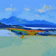 Kilchattan Bay & Arran by Peter King