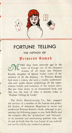 fortune telling: the game of life, through regular cards