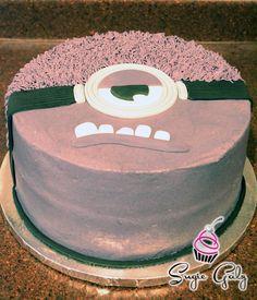 Gold Navy White First Birthday Cake in Austin Texas Birthday Cake
