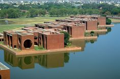 National Assembly Building Aga Khan Development Network is part of Louis kahn - Brick Architecture, Pavilion Architecture, School Architecture, Sustainable Architecture, Contemporary Architecture, Architecture Details, Interior Architecture, Famous Architecture, Tropical Architecture