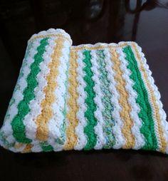 Crochet Baby Blanket by KarensComfyCreations