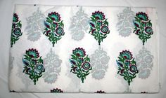 10Yard Hand Block Print Handmade Cotton Indian Natural  FOR DRESSES MATERIAL @ #Handmade