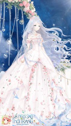 Art Anime Fille, Anime Art Girl, Anime Oc, Anime Angel, Cartoon Photo, Girl Cartoon, Bloom Winx Club, Harry Potter Wallpaper, Anime Dress