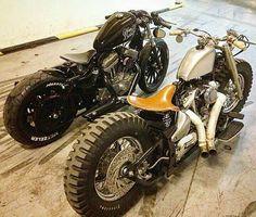 by @muscle_moto #bike #motorcycle #bobber #chopper #instamoto #builtnotbought #stocksucks ...